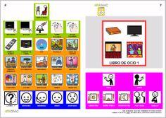 MATERIALES - Libros de Comunicación Aumentativa y Alternativa: Libro de ocio 1. http://arasaac.org/materiales.php?id_material=553