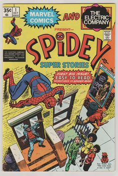 Spidey Super Stories V1 1.  NM.  October by RubbersuitStudios #spiderman #electriccompany