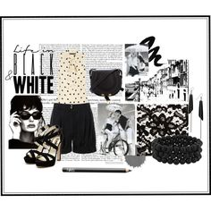 Life in Black & White, created by summergirl-914 on Polyvore
