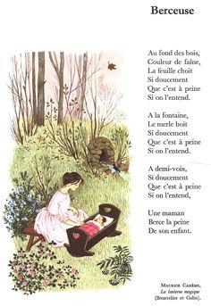 Maurice Carême, Berceuse, La Lanterne Magique