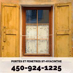 Portes et Fenetres St-Hyacinthe 450-924-1225 www.portesetfenetresathyacinthe.ca
