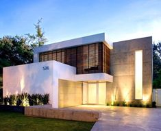 simple minimalist home model - - Beautiful Modern Homes, Garden Workshops, Dog Food Brands, New Home Designs, Minimalist Home, Modern House Design, Cool Pictures, Cool Things To Buy, Like4like