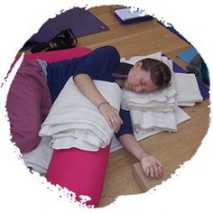 What I Learnt from Training in Restorative Yoga with Judith Hanson Lasater: http://www.katharinewolf.com/2014/04/what-i-learnt-from-training-in-restorative-yoga-with-judith-hanson-lasater/