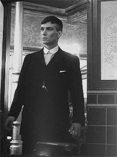 Thomas Shelby looking like he means business