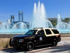 ◆Florida Highway Patrol Chevy Tahoe◆ Ford Police, Police Patrol, State Police, Police Cars, Police Officer, Police Vehicles, Chevrolet Tahoe, Chevy, Radios