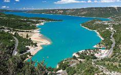Lac Sainte-croix, Var & Alpes de Haute Provence, Provence, France.