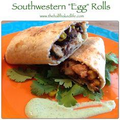 Southwestern Egg Rolls