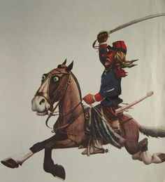 Molina Campos. Soldado de la Guardia Nacional.  http://www.desvandebuenosaires.net/humor-patoruzu/florencio-molina-campos/