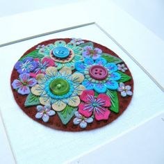 buttons (No Pattern, but is nice work) It is out of felt with buttons. It would be fun to design your own,