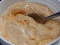 Homemade goat milk sherbet