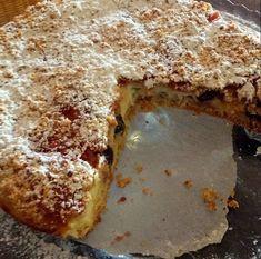 La crostata crema e amarene | La mamma cuocò