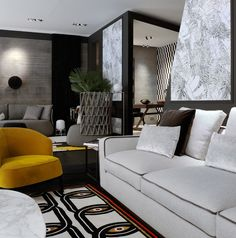Inside Creative Store - Carte blanche n° 3 Sofa Furniture, Sofa Chair, Furniture Design, Feng Shui, Modern Interior Design, Home Collections, Living Room Decor, B & B, Master Bedroom
