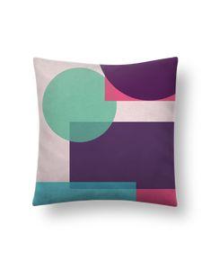 Cojín Piel de Melocotón 45 x 45 cm Mondrian - tunetoo #cojines #decorativos #ideas #salon #modernos #divertidos #estampados #personalizados