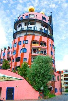 Hundertwasser Building II, via Flickr.