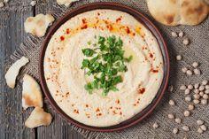 Hummus – gesund, lecker und total im Trend #Rezept #Hummus