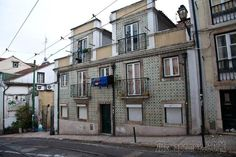Достопримечательности Лиссабона - арабский квартал Алфама.
