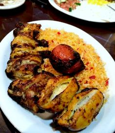 House of Kabob (Kurdish) Recommended Dish: Joojeh Kabob (A whole Cornish hen marinated in lemon, saffron and turmeric) served with barberry rice. Outside-The-Box: Lamb Shank with Green Rice Pro-Tip: Order the lamb braising liquid and their homemade hot sauce on the side