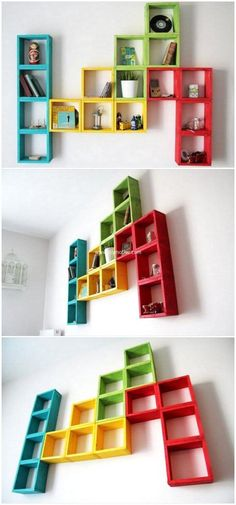 Let's construct this awesome pallets wooden idea for your home. This wall shelve appears much expensive as shown in the pictire given below, but the most wonderful thing in this shelf is that it is entirely created with a reclaimed wooden pallets of a house.  #shelfie #shelves #pallets #woodpallet #palletfurniture #palletproject #palletideas #recycle #recycledpallet #reclaimed #repurposed #reused #restore #upcycle #diy #palletart #pallet #recycling #upcycling #refurnish #recycled #woodwork…