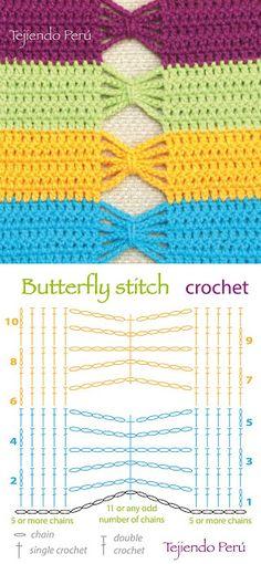 Tecendo Artes em Crochet: Pontos de Crochê lindos com Gráficos!