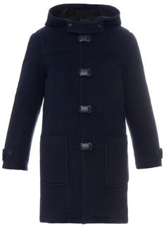 a5a26653d Jessica Simpson Plus Size Braided Wool Duffle Coat (Navy) Women s ...