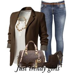 Nice Casual Hijab Outfit brown blazer with jeans, Fashion Blazers for woman www.justtrendygir...... Check more at http://24shopping.tk/fashion-clothes/casual-hijab-outfit-brown-blazer-with-jeans-fashion-blazers-for-woman-www-justtrendygir/