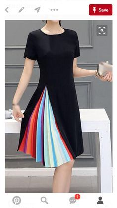 Idea for reuse of a skirt and a narrow dress.