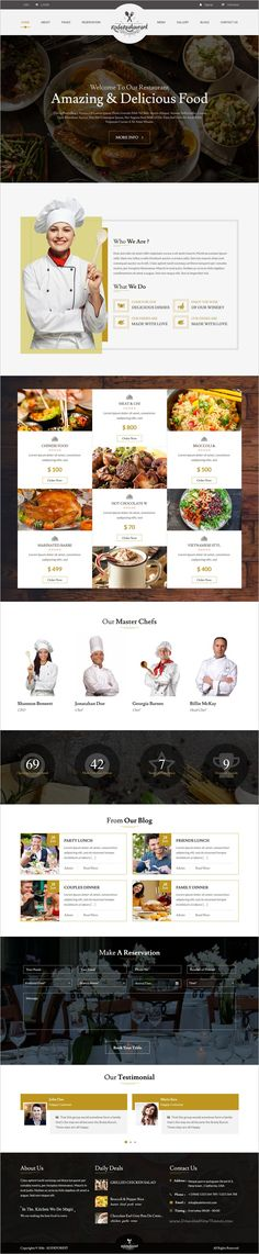 Food court is a wonderful responsive #WordPress theme for #restaurant, #food #recipes and cooking related websites download now➩ https://themeforest.net/item/food-court-restaurant-wordpress-theme/18160242?ref=Datasata