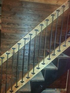 replacing spindles with rebar - Google Search