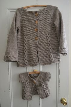 Adult and child size patterns, so cute