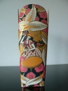 Beautiful Art Deco Candy Box /french art deco packaging / vintage 1930s paper ephemera