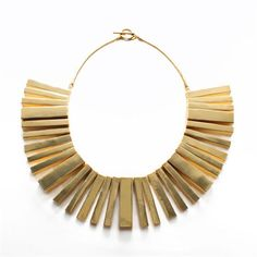 The Monet Modernist Necklace  from noir jewelry