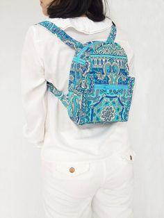 Diaper Bag Backpack, Mini Backpack, Hippie Backpack, Painted Bags, Toiletry Bag, Canvas Fabric, Hobo Bag, Canvas Tote Bags, Bag Making