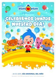 ¡Siempre es mágico festejar con amigos!  Celebremos juntos el Día Universal del Niño.  ¡CLARO QUE SÍ!
