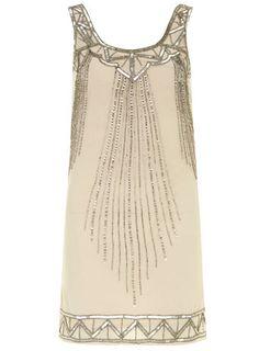 { Dorothy Perkins Mocha sequin dress }