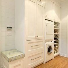Laundry - contemporary - laundry room - dc metro - Shenandoah Cabinetry
