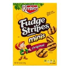 Shop Great Deals on: Fudge Striped Shortbread Cookies, Packs plus free ship to store! Bear Cookies, Mint Cookies, Coconut Cookies, Mini Chocolate Chips, Chocolate Chip Cookies, Cocoa Krispies, Mini Oreo, Marshmallow Treats, Food Cravings