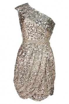 sparkles! Looks like a fabulous bachelorette party dress to me!