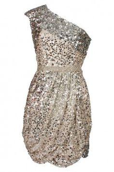 sparkles! Looks like a fabulous bachelorette party dress to me!
