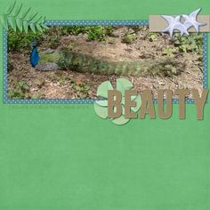 """Made with """"The Good Earth"""" by Shel Belle Scraps from Scraps N Pieces."""