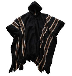 Mens+Hooded+poncho+made+in+handloom+Bolivia+alpaca+by+andeanspirit,+$31.00