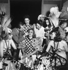 Show at the Folies-Bergere: Girls make-up 1942  Roger Parry (1905-1977)