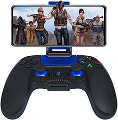 Manette pour Android Sans Fil Maegoo Wireless Bluetooth Mobile de Jeu Manette Gamepad Joystick avec Phone Bracket pour Android Téléphone