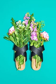 Blooming beautiful shoes!