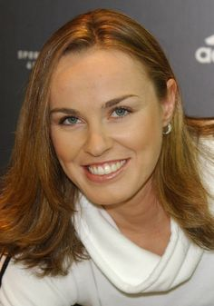 Martina Hingis Photos - Athletes come to celebrate the grand opening of London's first Adidas Sports Performance store on Oxford Street. - Grand opening of Adidas in London