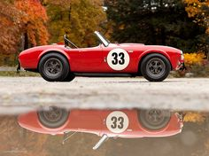 1963 AC Cobra 260 Factory Competition Tuned by Shelby. I always liked the 260 over the 427.  Both are great though.