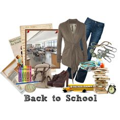 """Casual Friday Teacher Look"" by missteacherlady on Polyvore"