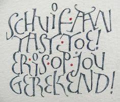 Afbeeldingsresultaat voor liesbet boudens Lettering Styles, Script Lettering, Handwritten Fonts, Typography Quotes, Lettering Ideas, Handwriting Alphabet, Calligraphy Alphabet, Modern Calligraphy, Font Alphabet