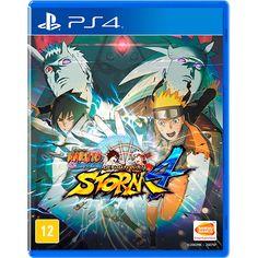 (SUB) - Naruto Shippuden: Ultimate Ninja Storm 4 - PS4 - 132,51 + frete (2,99 sp)