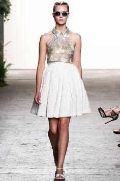 Batik Skirt  2Tone Aline  with inseam side by KooCooCarrillo, $89.00