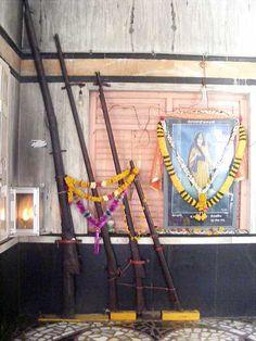 Guns of Female Sikh Warrior known as Mai Bhago